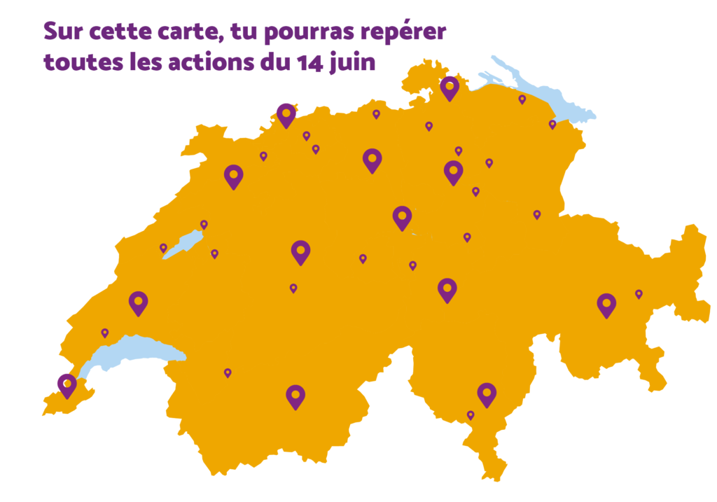 Carte aves les actions