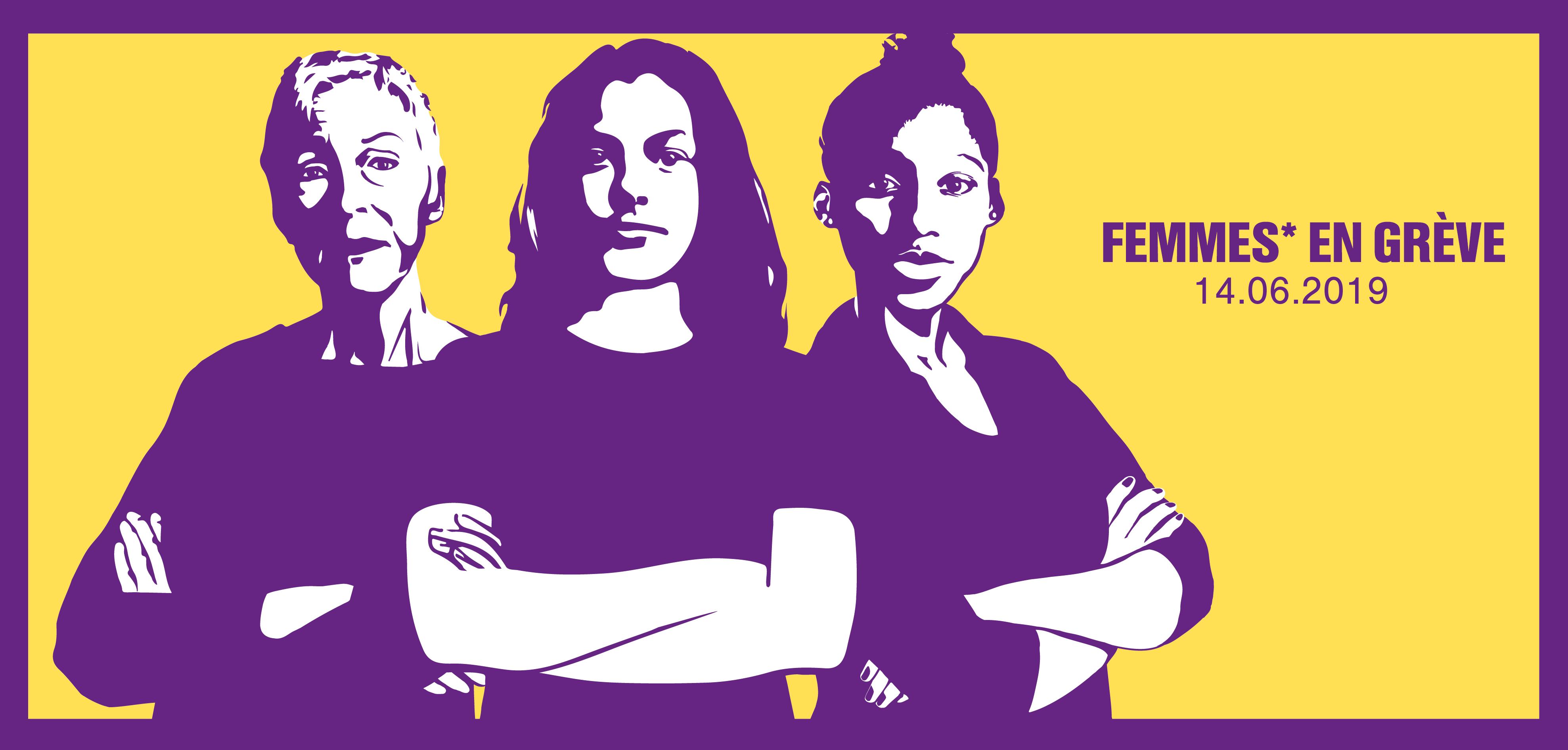 Femmes En Grève - 14 juin 2019