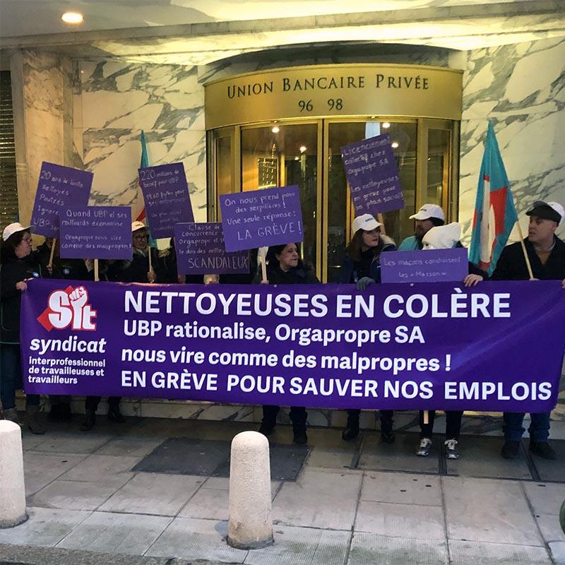 Grève a Genève